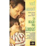 Un Milagro Para Lorenzo Nick Nolte Susan Sarandon 1992 Vhs