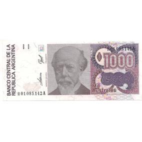 Billete 1000 Australes Bottero 2860 Reposicion Sin Circular