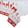 Mantel Navideño Pvc Impermeable Lavable!! 250 Cms X 140 Cms