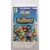 Figurinhas Club Penguim (puffles) - Pacotinhos Fechados
