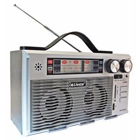Radio Retro Cnn 2095 Am E Fm Entrada Usb Cartão Sd