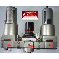 Unidad De Mantenimiento Filtro, Regulador Y Lubricador 1pulg