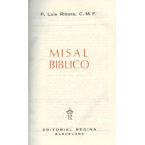 Misal Bíblico