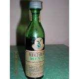 Antigua Botella En Miniatura De Fernet Branca Menta Años