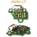 Conector De Carga Usb Dock C/ Placa Motorola Moto G3 Xt1550