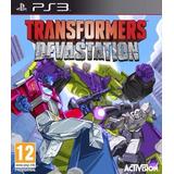 Transformers: Devastation Ps3 En Español Oferta Unica
