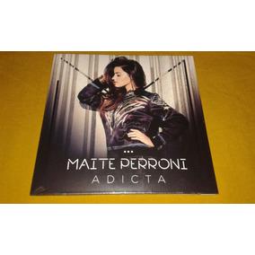 Cd Sencillo Promo Maite Perroni - Adicta Nuevo Sellado