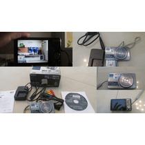 Câmera Digital Sony Cyber-shot Dsc-w570 16.1 Mp C/ 5x Zoom
