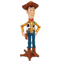 Toy Story - Xerife Woody Boneco - 40 Cm Fala Português