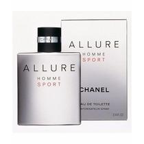 Perfume Chanel Allure Homme Sport Masc Edt 100ml Original