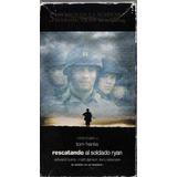 Rescatando Al Soldado Ryan Tom Hanks De Spielberg Vhs