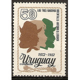 Uruguay Los Tres Gauchos Orientales Serie Yvert 877 Mint