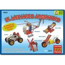 El Mecanico Argentino T/mecano Para Armar De Metal X222 Pzas