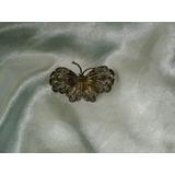 Fabuloso,raro Broche Noveau Borboleta Prata 800,europa,19 Th