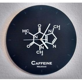 Reloj De Fórmula De La Cafeína