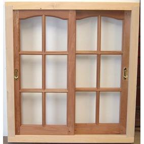 Aberturas ventanas de madera corredizas en mercado libre for Ventanas modernas en argentina