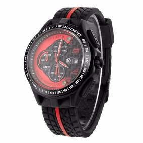 Relógio Masculino Esportivo Frete Grátis Estilo Ferrari