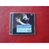 Andres Calamaro - Made In Argentina Cd + Dvd