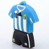 Pendrive 8 Gb Camiseta Argentina Futbol Messi, Afa