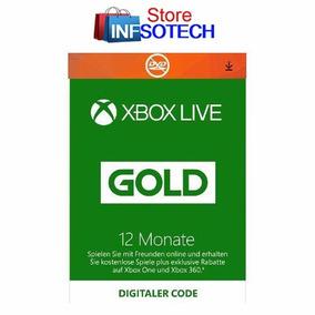 Xbox Live 12 Meses Gold Entrega En 5 Minutos Region Libre