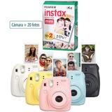Camara Instantanea Fuji Instax Mini 8 Polaroid + 20 Fotos