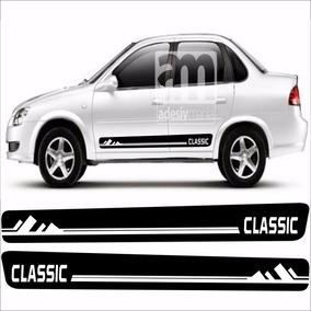 Kit Adesivo Lateral Corsa Classic Faixas Tuning Cla-09