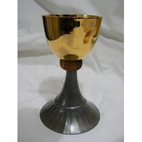 Caliz, Vaso Sagrado,baño De Oro, Copon, Santeria