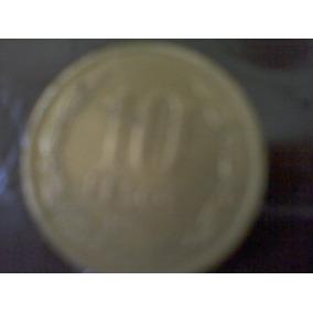 Moneda De $10, Chilena !!!