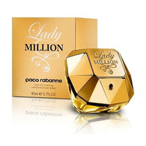 Lady Million By Paco Rabanne -- Eau De Parfum 80ml