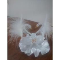 Pareja De Cisnes En Acrilico Souvenirs,casamientos,15 Años