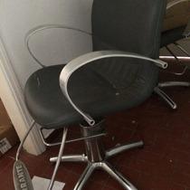 Cadeira De Cabeleireiro/corte//ferrante Modelo Trieste.