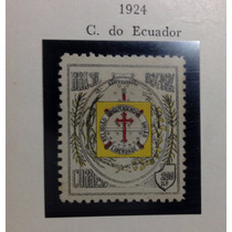 Selo - Brasil Rhm C-18 Centenário Da Confeder. Do Equador