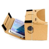 Visor De Realidad Virtual Lentes Vr Box 3d Google Cardboard