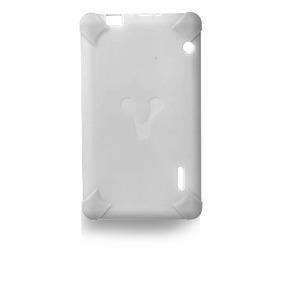 Vorago Funda Tablet 7 Pulgadas Goma Resistente Tc-124 Blanca
