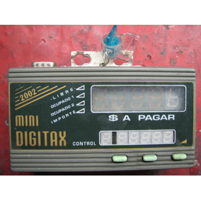 Tarifador Para Programar Reloj Taxi Digitax