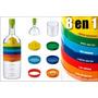 Exprimidor, Embudo, Rallador, Colador Y Más, Botella 8 En 1