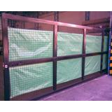 Tela Cubre Cerco - Rafia Verde 1.85m Rollo X 100 Metros
