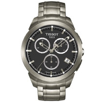 T Tissot Titanium Cronógrafo Del Reloj Para Hombre