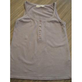 Musculosa Cuesta Blanca - Talle 42 - 5 Botones -92% Algodón