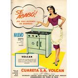 Antigua Propaganda De Cocina Volcán Fotográfico A4