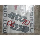 Motomel Eco 70 Juego Calcos Repuesto Simil Original