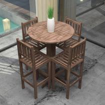 Conjunto Para Jardim Mesa E 4 Cadeiras Elizabeth Siena