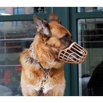 Focinheira Plástica Para Cães N 04 Com Regulagem Modelo Pet