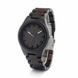 Reloj Bambu Correa Madera Broche Metalico En Caja Nuevo