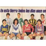 Poster Lamina El Grafico- Central-ferro-velez-racing-boca..