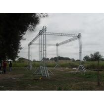 Truss,dj,estructuras,elevacion Line Array, Pantalla Led