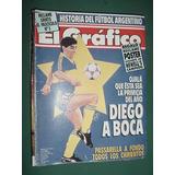 Revista Grafico 3717 Maradona Newells Gamboa Jordan