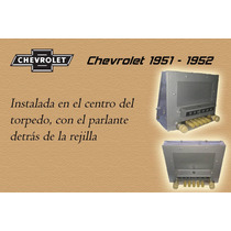 Radio Chevrolet 1951 - 1952
