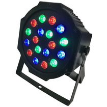 Luces Disco Led 18 Leds Audioritmica Fiesta Bar Ambiental