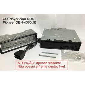 Cd Player Com Rds Pioneer Deh-4380ub (somente Traseira!)